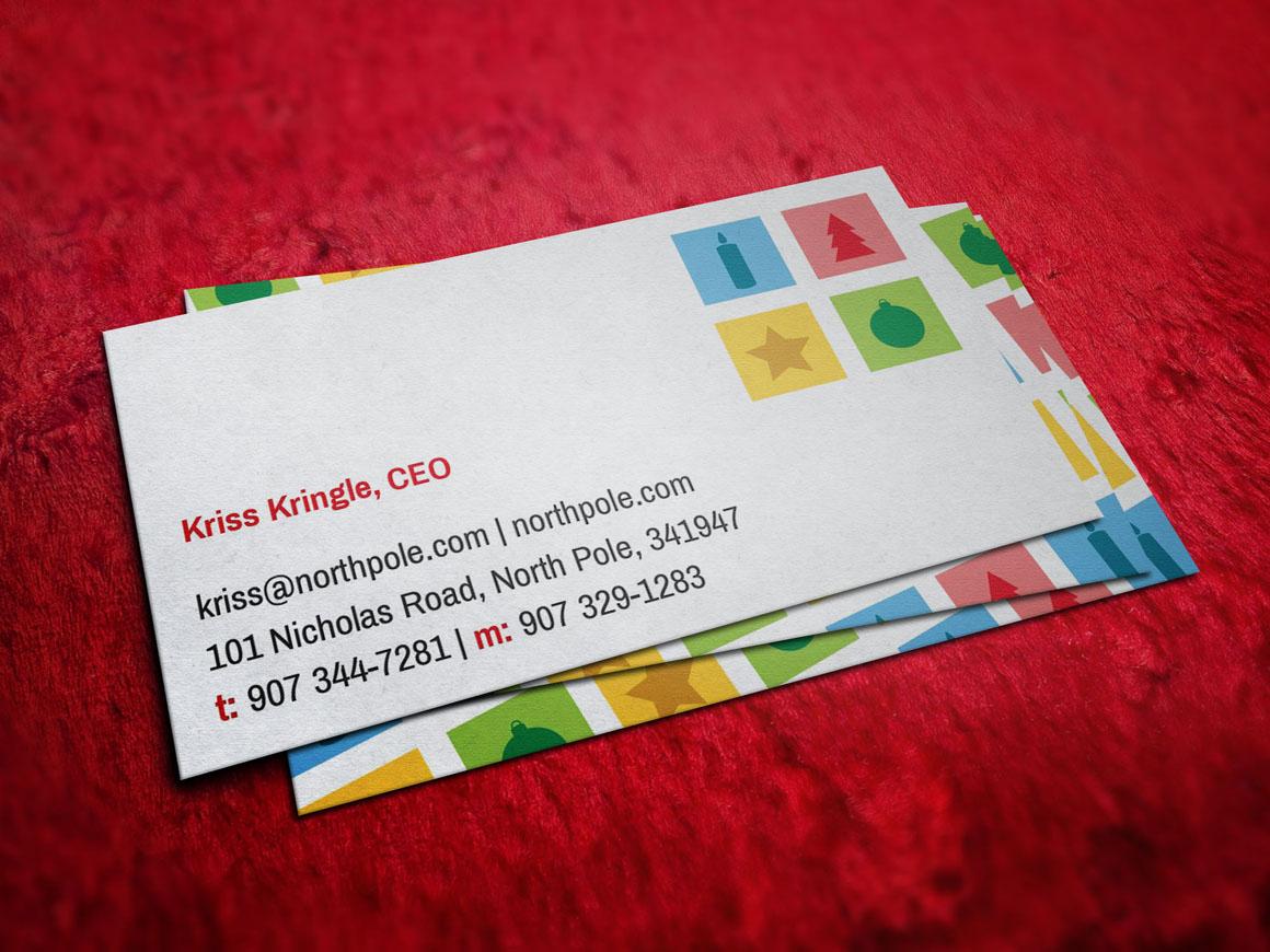 Santa Claus Christmas Business Card Business Card