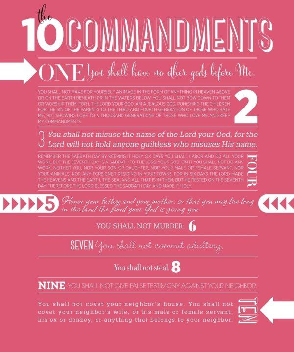 10 commandments # 71