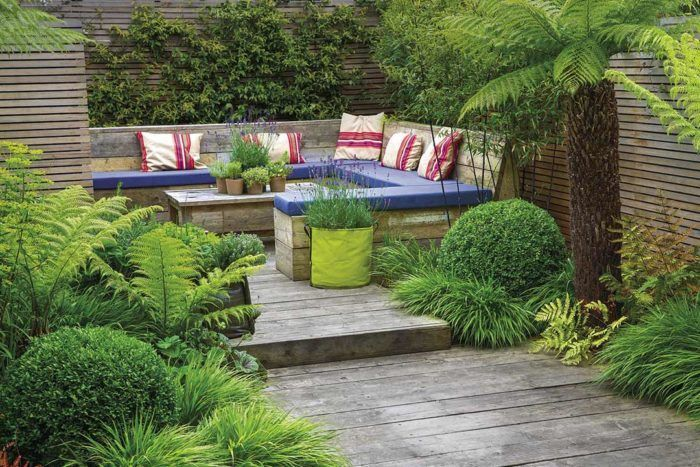 turn your patio into a garden oasis