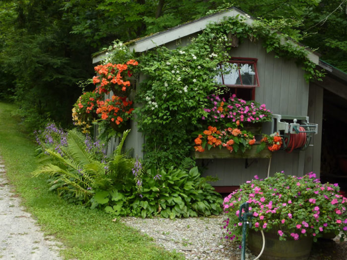 Five Traditional Elements of a Cottage Garden - FineGardening on Cottage Patio Ideas id=38771