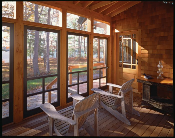 in search of the perfect screened porch