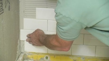 video series install subway tile