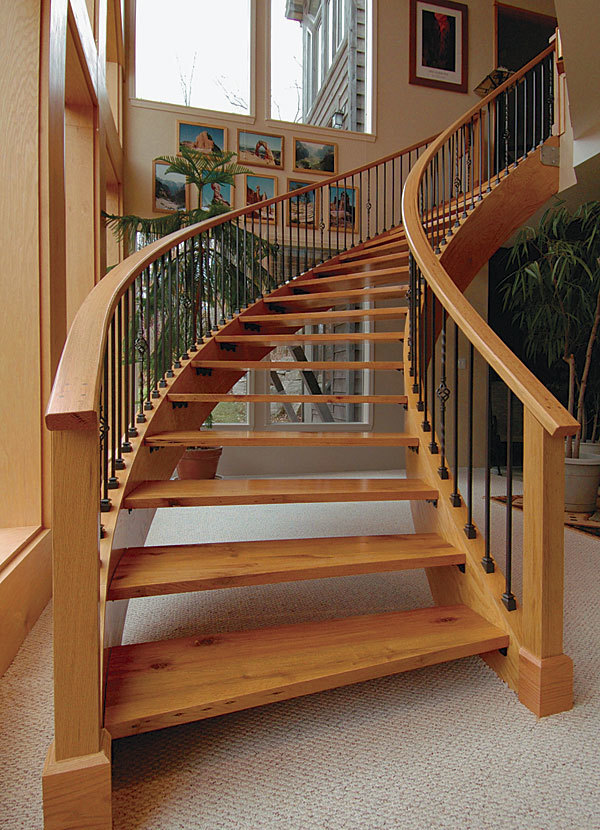 Floor Plan Curved Staircase