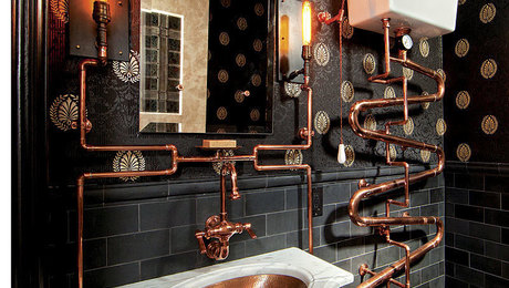A Loo Fit For Doctor Who Steampunk Bathroom Fine