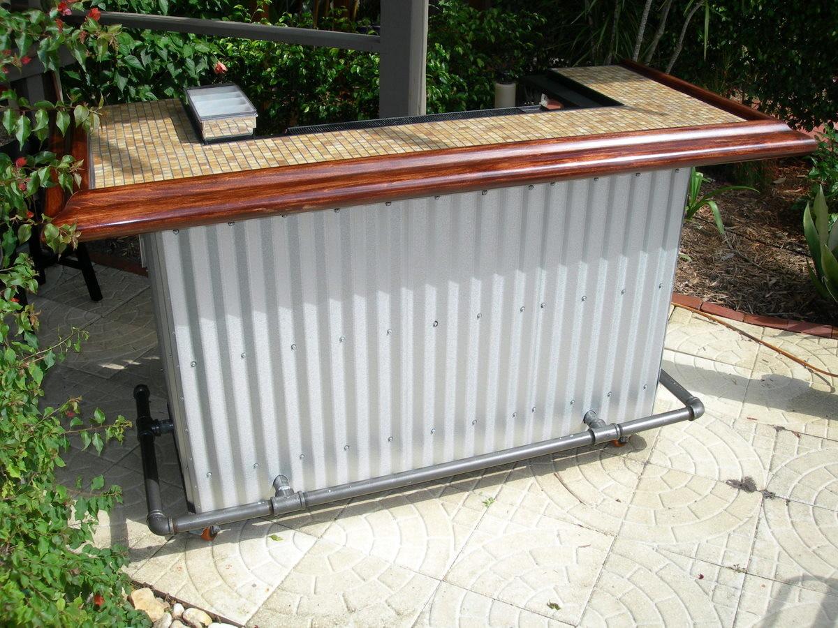 Backyard Bar - Fine Homebuilding on Backyard Bar With Roof id=46465