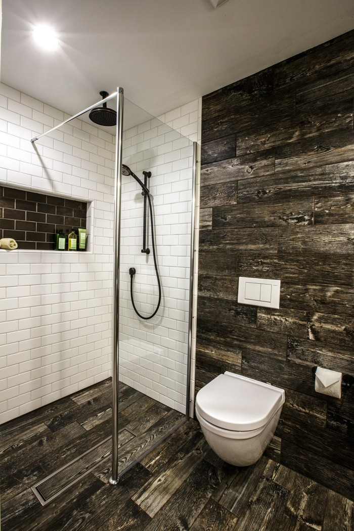 Modern Farmhouse Bath - Fine Homebuilding on Modern Farmhouse Shower  id=93626