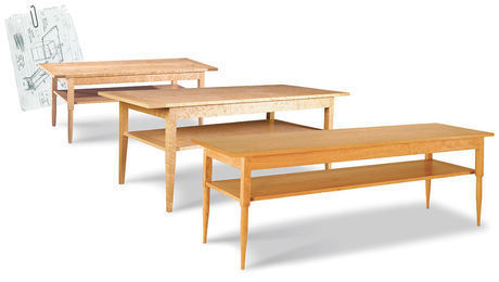 tables coffee finewoodworking