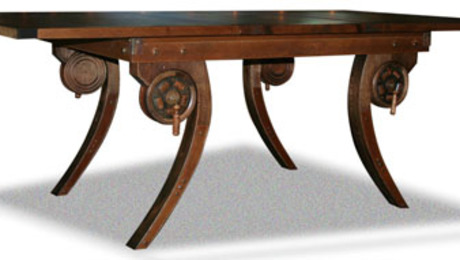 Steampunk Dining Table FineWoodworking