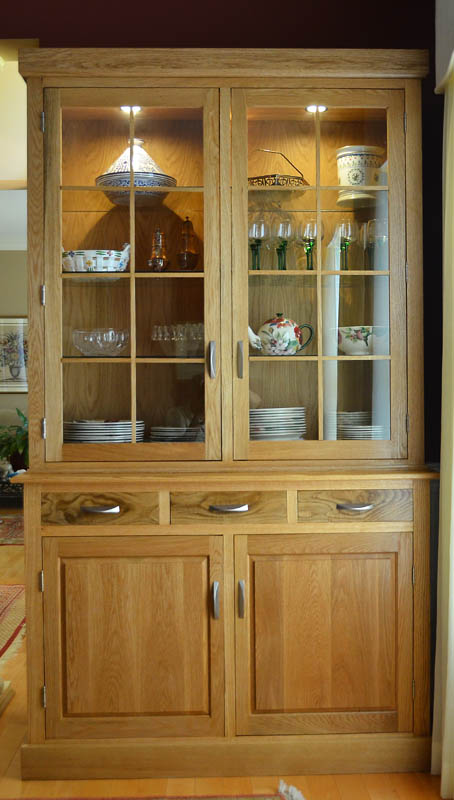 China Cabinet In White Oak FineWoodworking