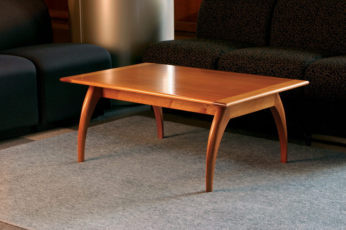 Free Plan: Mahogany Coffee Table