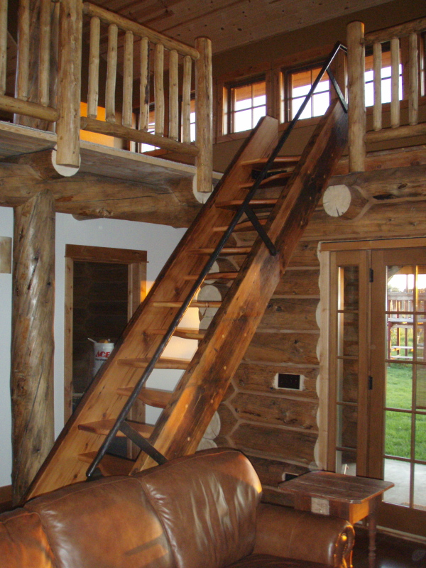Lapeyre Style Loft Stairs FineWoodworking