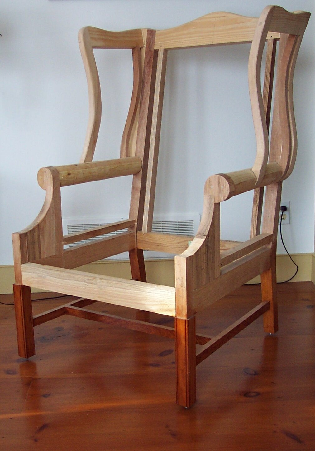 Upholstered Wing Chair FineWoodworking