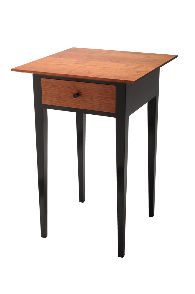 shaker night stand finewoodworking
