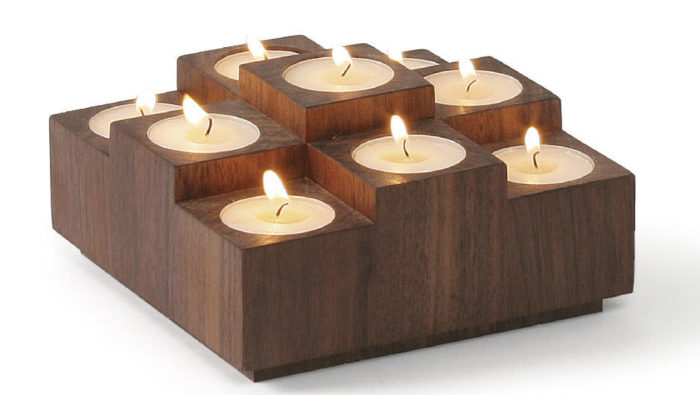 Handmade Gift Tea Light Candle Holder Finewoodworking