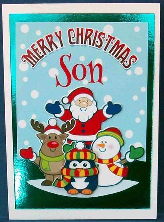Merry Christmas Son Santa Amp Friends CUP584083971