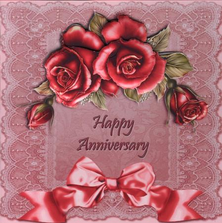 Red Roses Amp Pink Lace Anniversary CUP3898272
