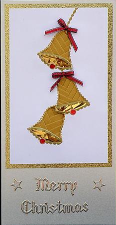 Christmas Bells Iris Folding Pattern CUP23088172