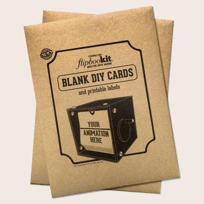 blank card kit custom animation