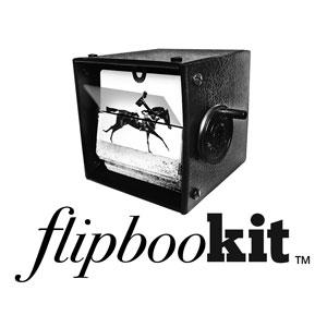FlipBooKit Logo original flip book kit animation machine diy gif