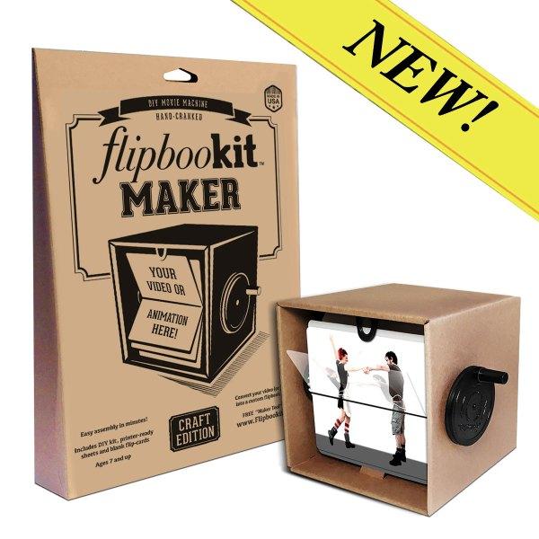 New Maker kit promo FlipBooKit Flip book DIY Craft project