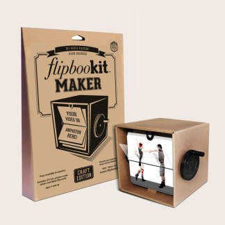 Flipbookit make flip book animated machines gifts and crafts assembled craft maker kit solutioingenieria Choice Image