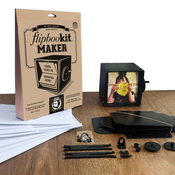 Flipbookit Flip book Maker Kit Black parts