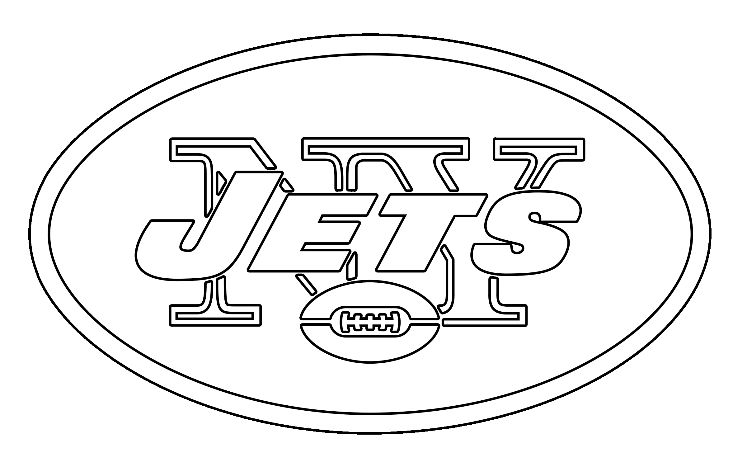 The nitro & turbo font is used for jersey lettering, player names, numbers, team logo, branding, and merchandise. New York Jets Logo PNG Transparent & SVG Vector - Freebie ...