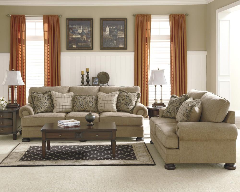 keereel - sand - sofa & loveseat   38200/35/38   living room groups