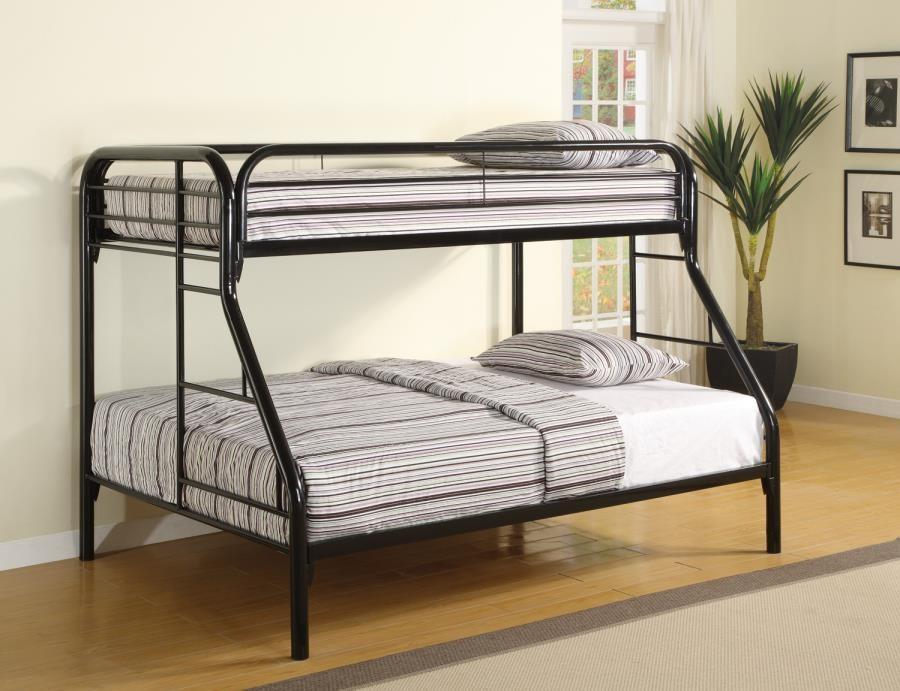 morgan bunk bed morgan twin over full black bunk bed