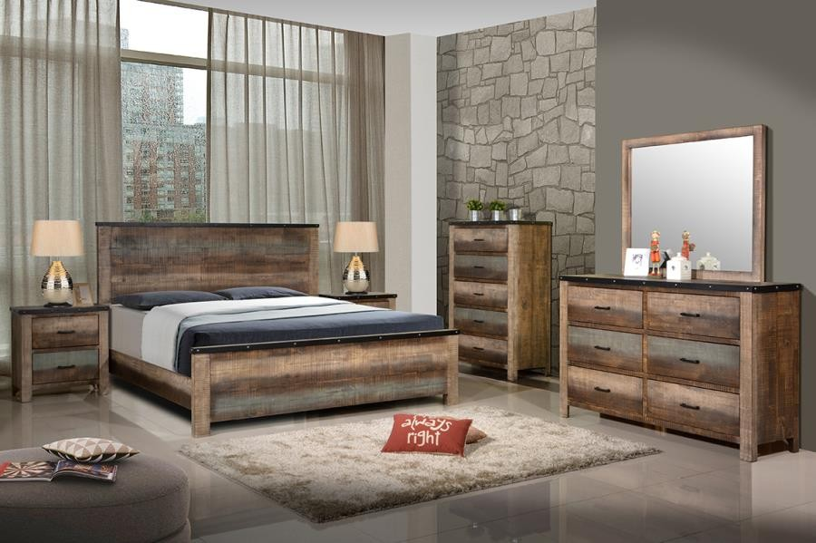 sembene bedroom collection sembene bedroom rustic antique multi color california king bed