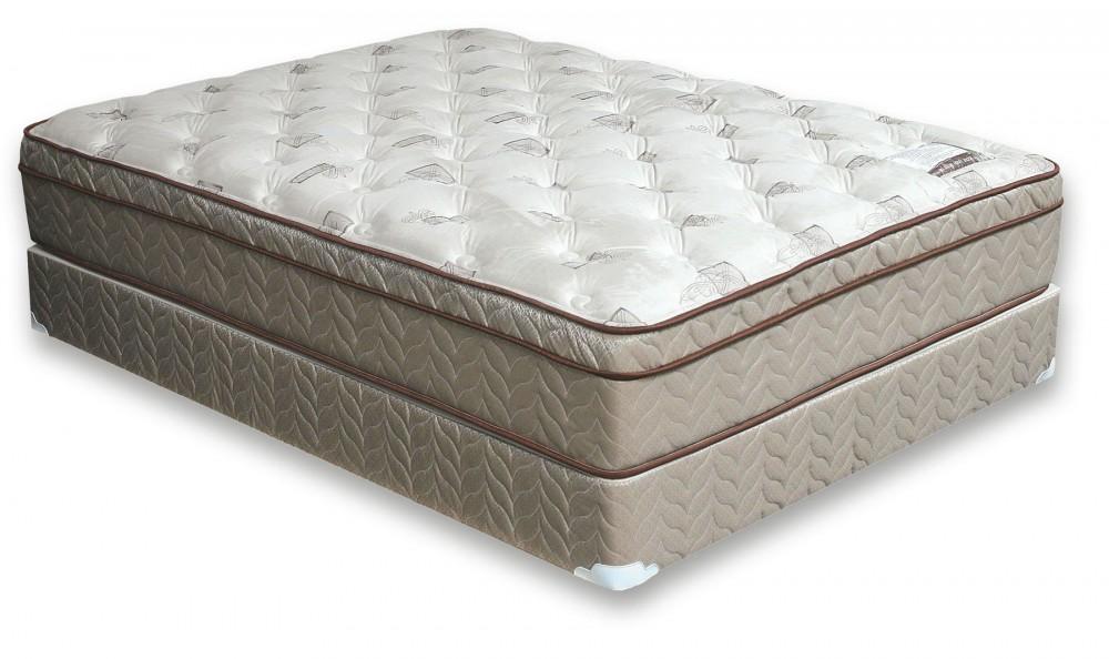 lilium euro pillow top mattress