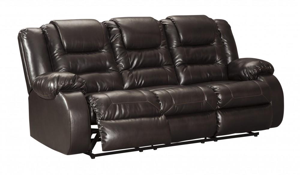 Vacherie Chocolate Reclining Sofa 7930788