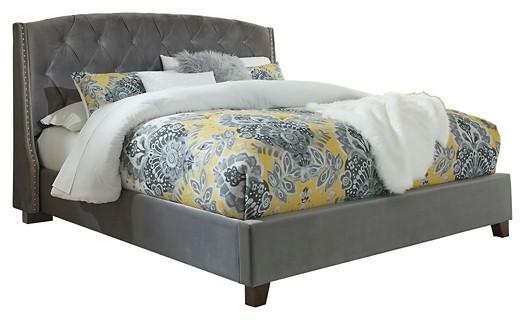 kasidon california king tufted bed