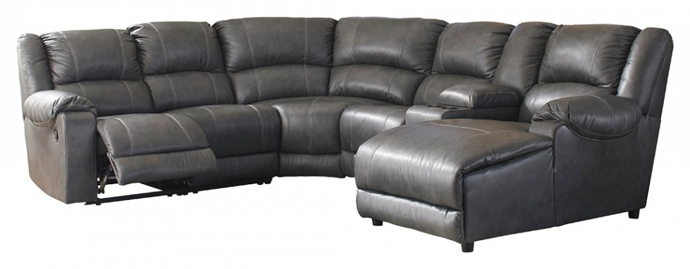 brambleton 6 piece reclining sectional with chaise