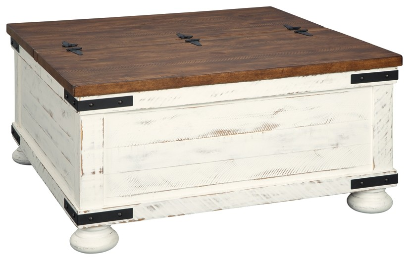 wystfield cocktail table with storage