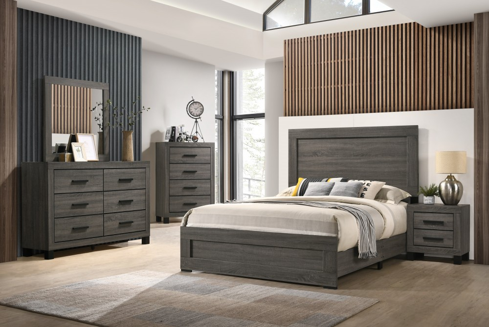 brandon dresser mirror chest nightstand queen bed complete set