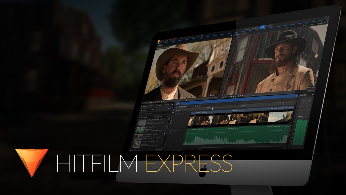 HitFilm Express Free Editing Amp VFX Software
