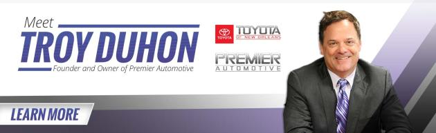 Premier Automotive s Owner and Founder   Toyota of New Orleans