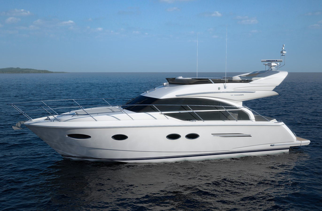 New Princess 43 Flybridge Yachts For Sale Galati Yacht Sales