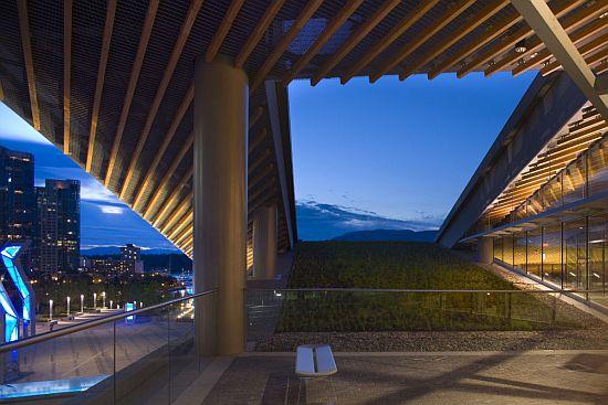 Green Building Brain Vancouver Convention Exhibition