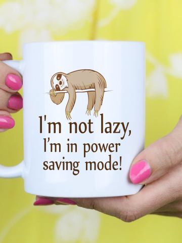 Funny Sloth Gift Mug