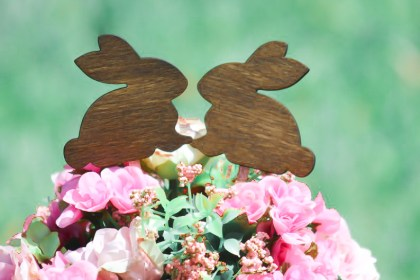 Rabbits Cake Topper