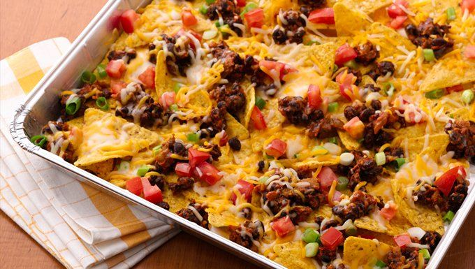 Grilled Picnic Taco Nachos