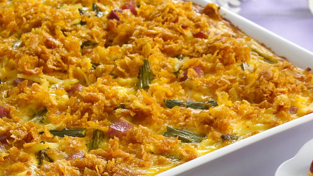 Asparagus, Ham and Egg Bake