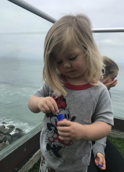 Bubbles for Little Mermaid