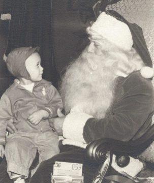 Rich with Santa