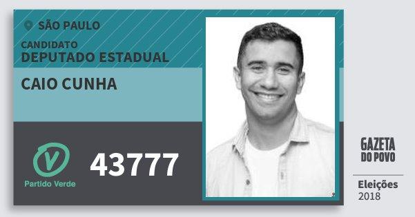 Resultado de imagem para Caio Cunha (PV)