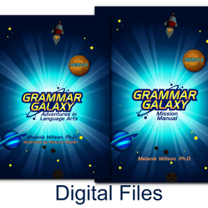 Grammar Galaxy Nebula Digital Kit