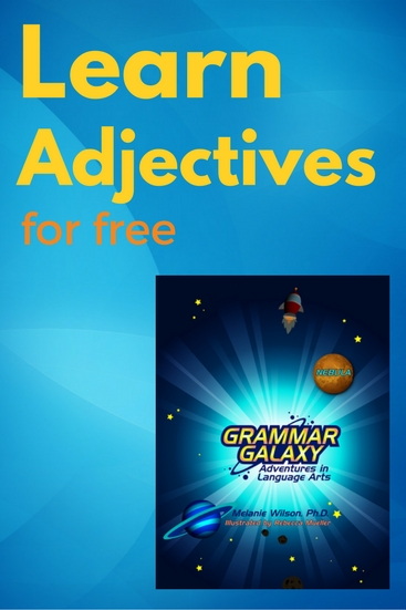 Learn Adjectives with Grammar Galaxy free