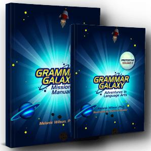 Grammar Galaxy Protostar Print Kit